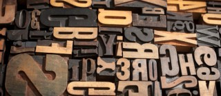 Letterpress Blocks Background