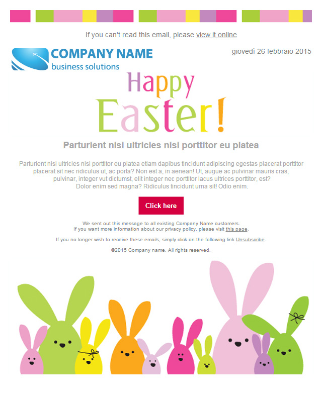 54 FREE Easter Email Templates for SendBlaster