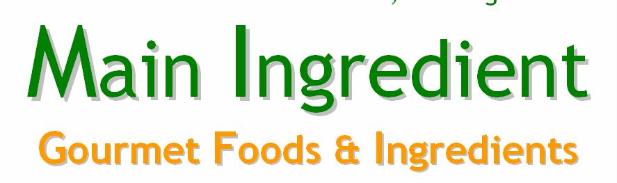 Main Ingredient gourmet online shop