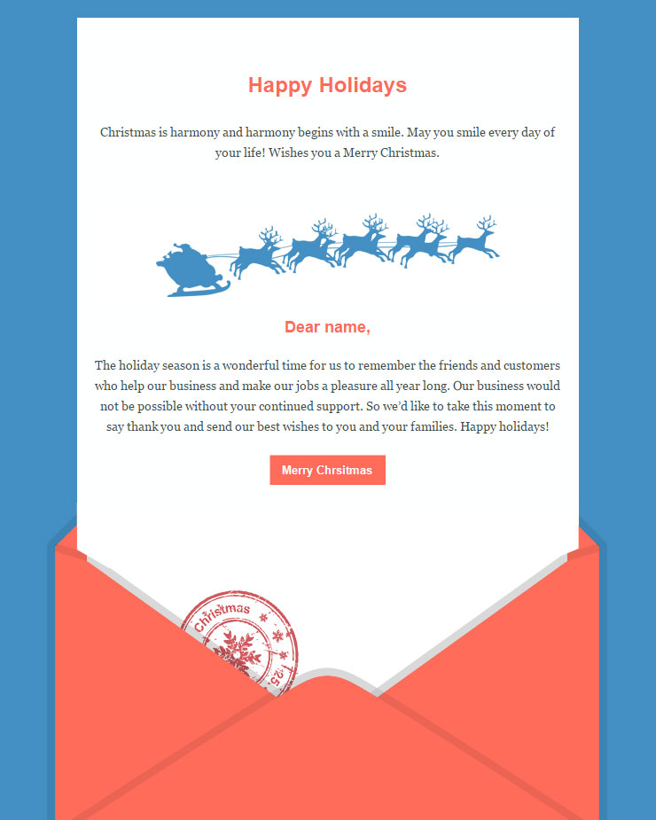 104 (+20) FREE Christmas and New Year Email Templates