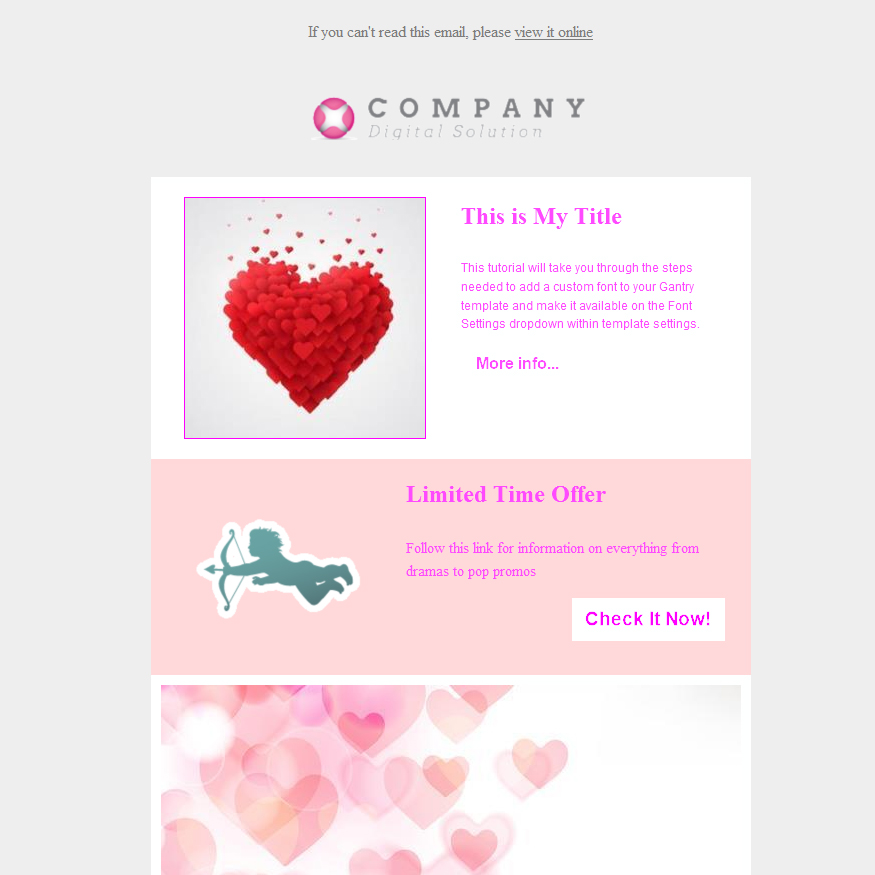 18 13 Free Valentines Day Email Templates