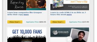 appsumo newsletter