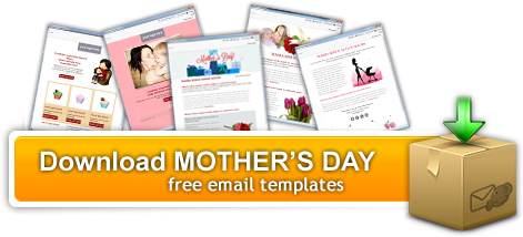 download mother's day email template