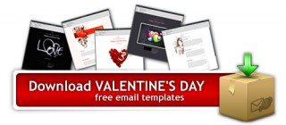 Download Valentine's Day Email Templates