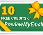 Free Credits on PreviewMyEmail